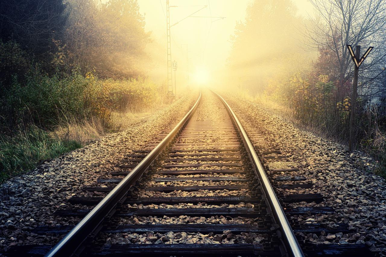 hope, sunbeam, rails