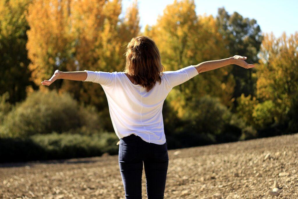 happiness, joy, pure air
