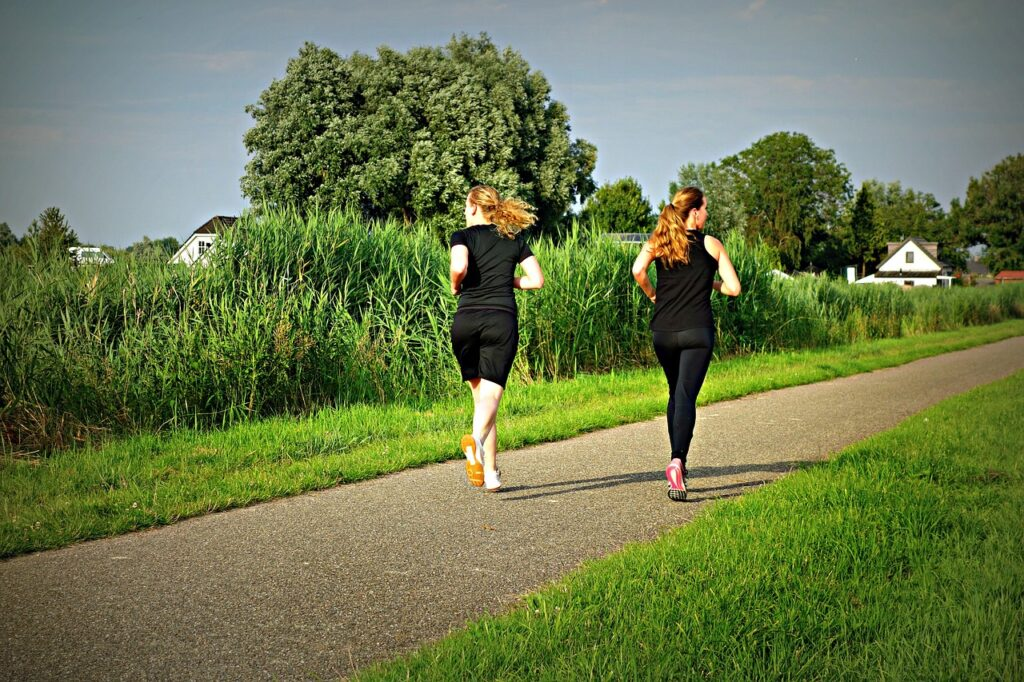 jogging, fitness, exercise